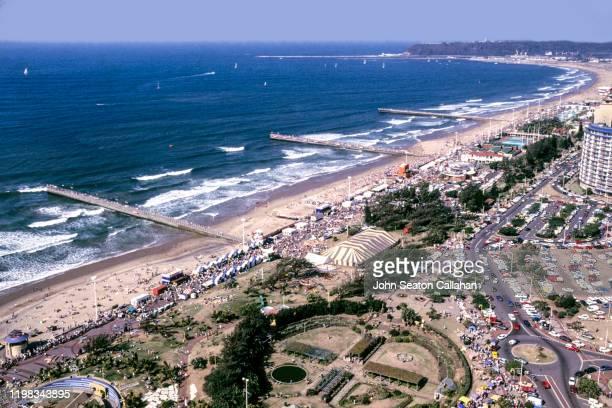 south africa, the durban beachfront - ダーバン ストックフォトと画像