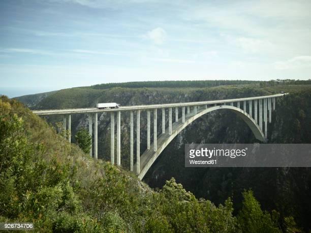 South Africa, Tsitsikamma National Park, Garden Route, Bloukrans Bridge