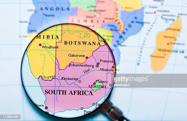 sudáfrica con lupa - lesoto fotografías e imágenes de stock