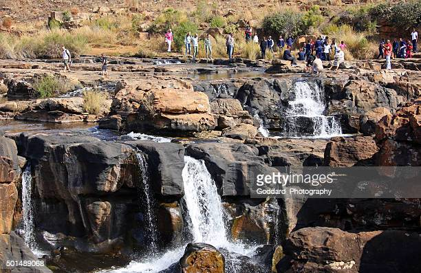 South Africa: Waterfalls at Bourke's Luck Potholes