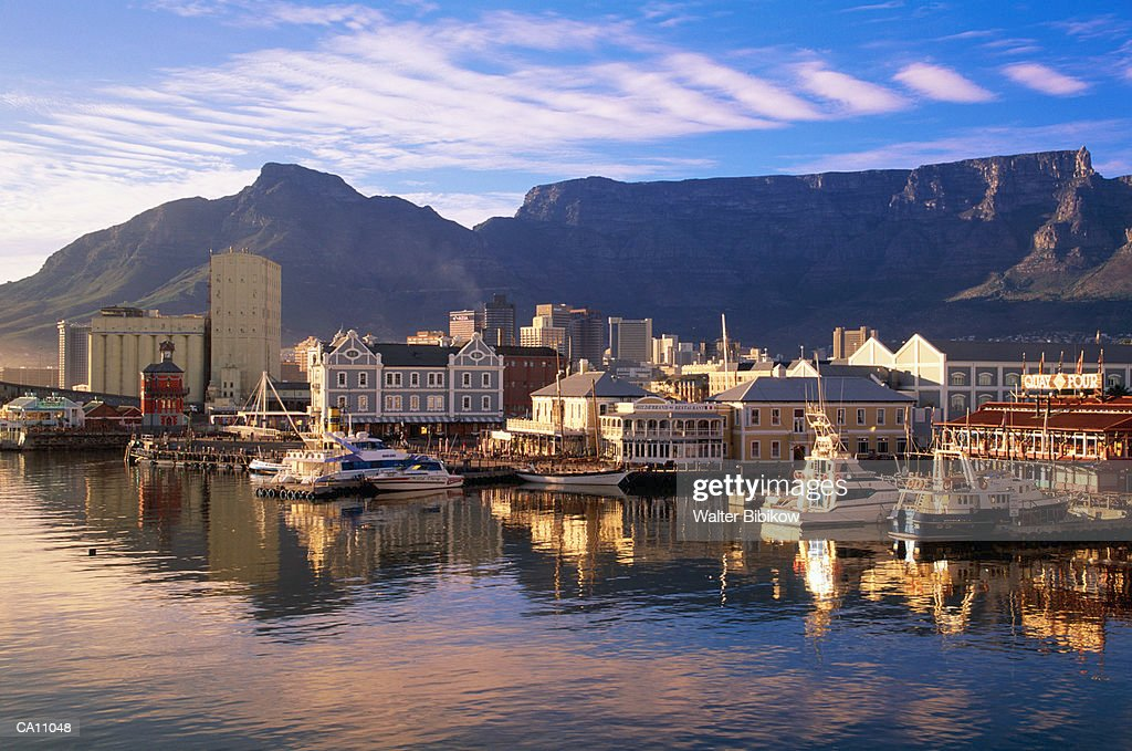 South Africa, West Cape, Capetown, waterfront : Stock Photo