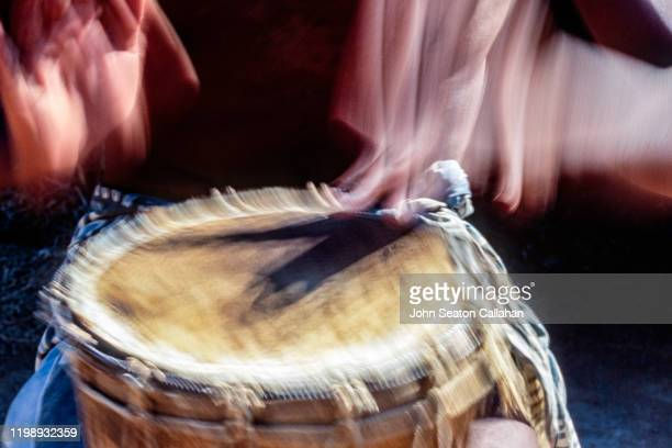 south africa, xhosa drum - african tribal culture stock pictures, royalty-free photos & images