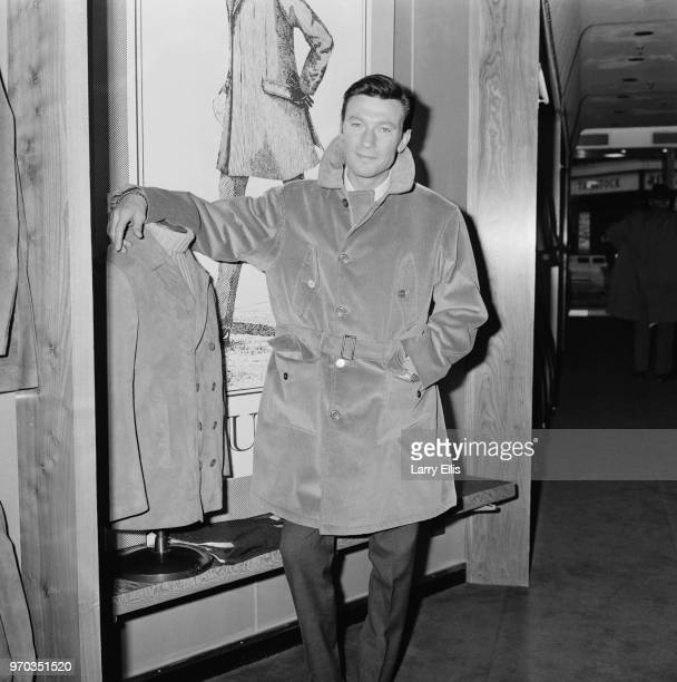 South African actor Laurence Harvey shopping in Regent Street London UK 16th February 1967