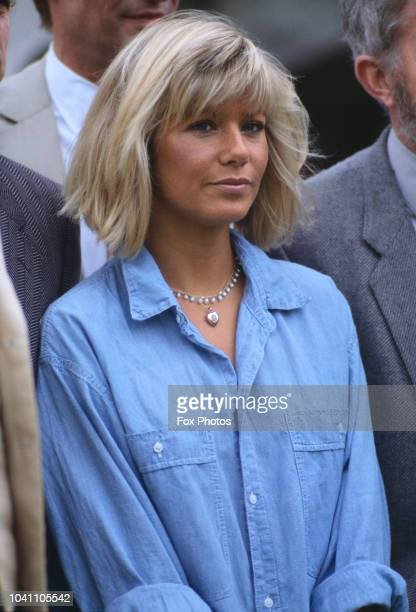 South African actress Glynis Barber 1985