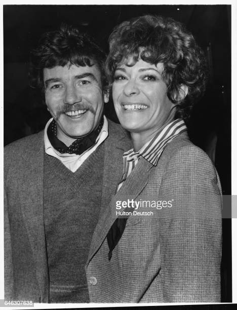 South African actress Janet Suzman and English actor Albert Finney 1977