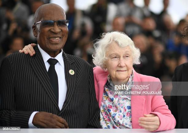 South African antiApartheid campaigner and former political prisoner Andrew Mlangeni and South African author political communist activist Sylvia...