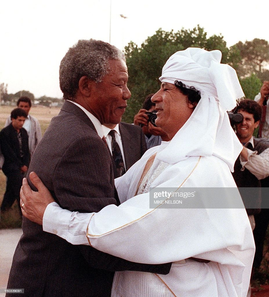 BIO-MANDELA-KADHAFI : News Photo
