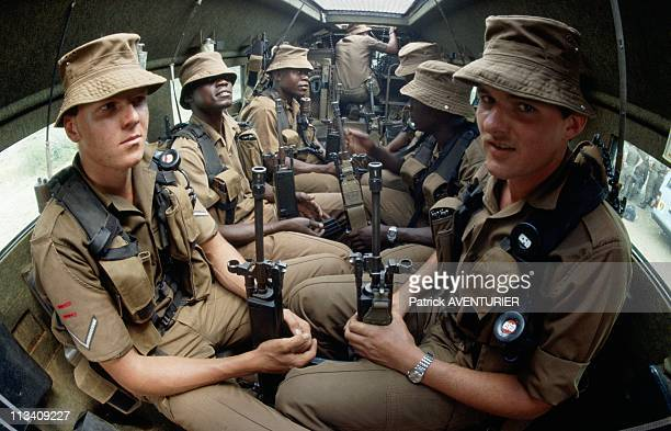 South African Army On September In South Africa - Land Army, 116th Battalion