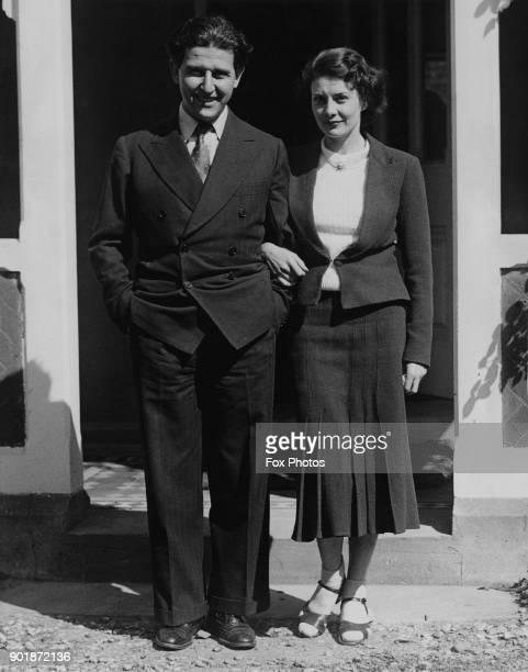 South African ballet dancer and actress Pearl Argyle and her husband film director Kurt Bernhardt or Curtis Bernhardt during their honeymoon in...