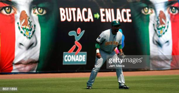 South African baseball player Paul Rutgers during the World Baseball Classic 2009 on March 08 2009 in Mexico City Mexico