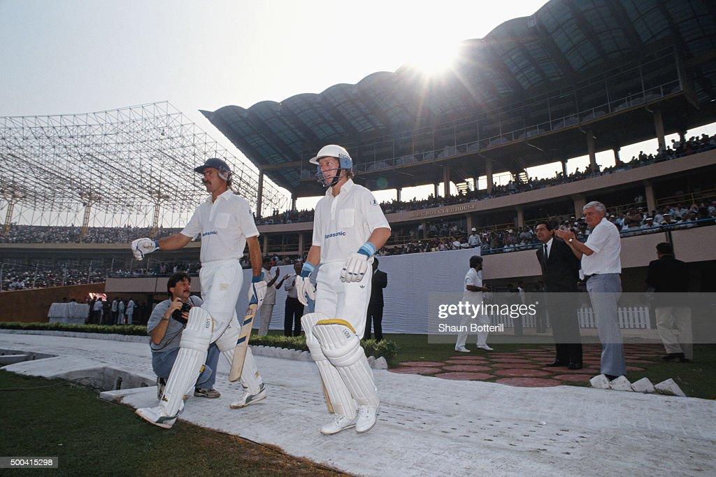 South Africa v India 1ST ODI Calcutta  1991 : News Photo