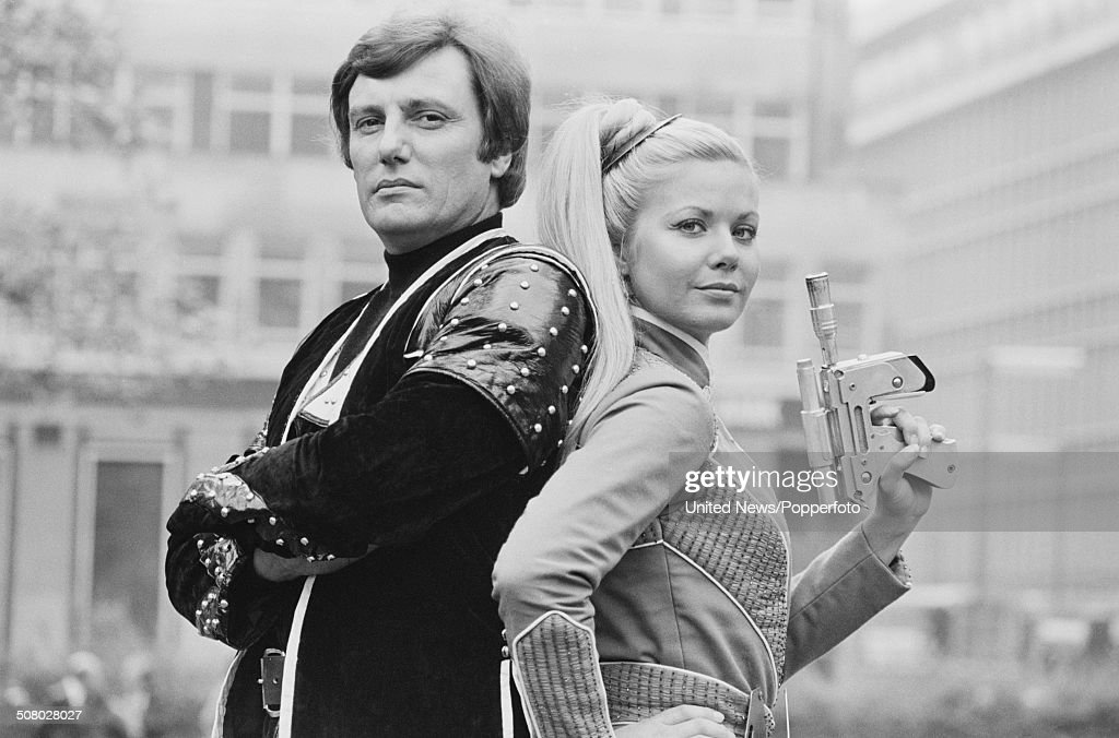 Glynis Barber And Paul Darrow In Blake's 7 : News Photo
