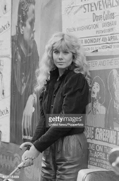 South African born actress Glynis Barber pictured in London on 31st March 1983.