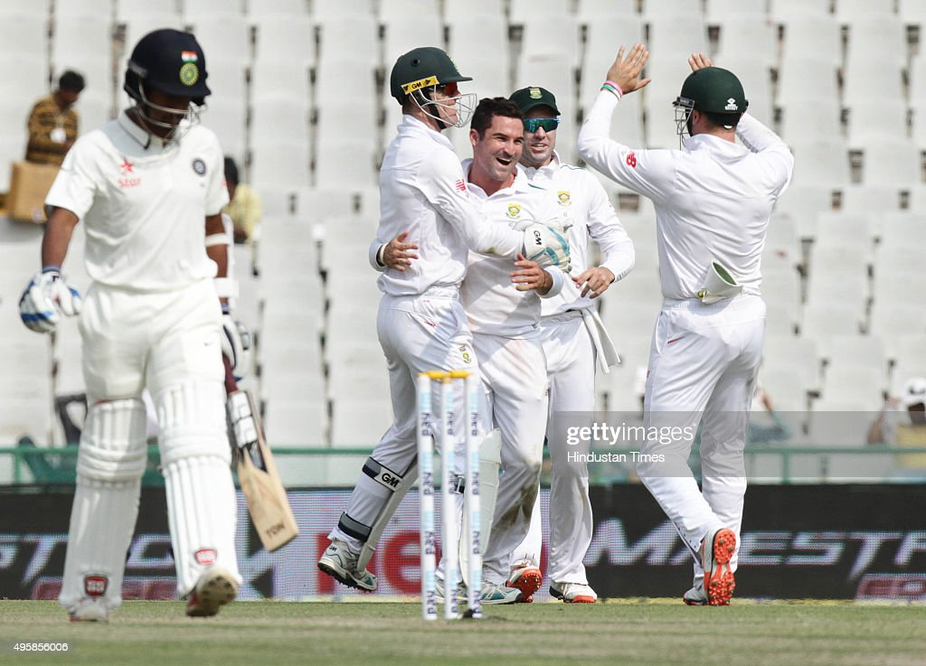 India Vs South Africa First Test Match In Mohali : ニュース写真