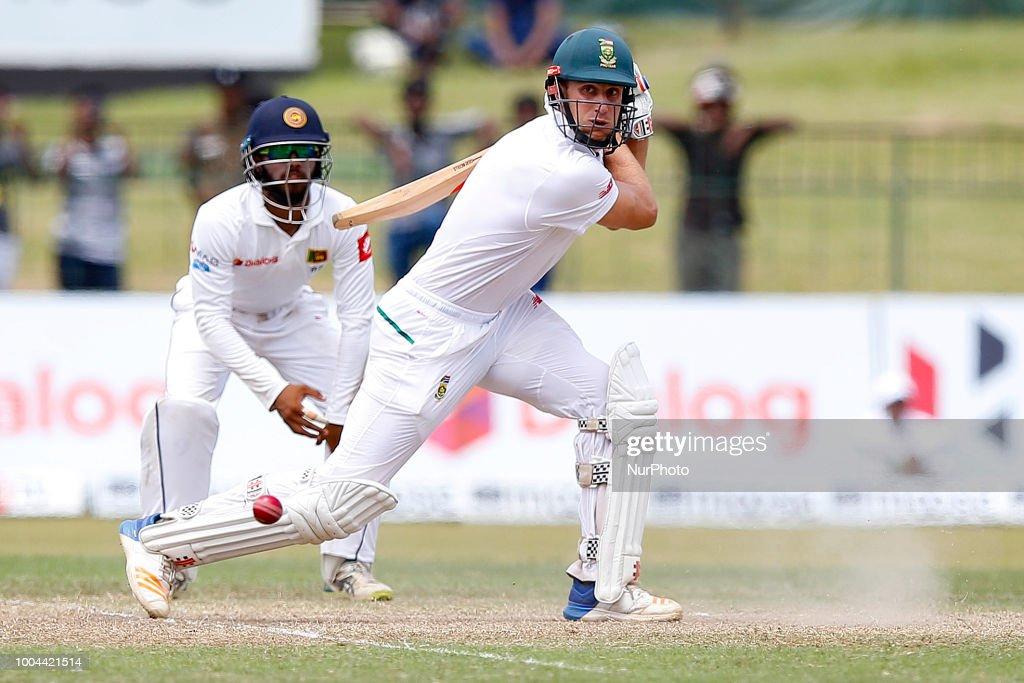 Sri Lanka v South Africa - 4th Day, 2nd Test : News Photo