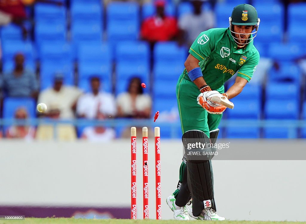 South African crickter Jean-Paul Duminy