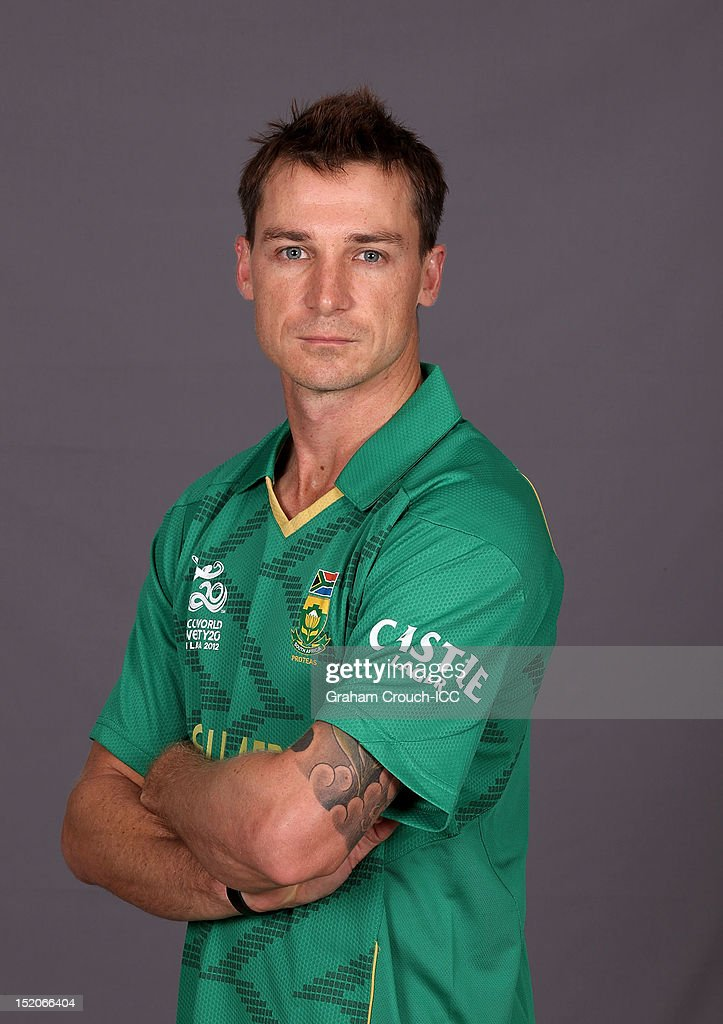 South African Dale Steyn poses at a portrait session ahead of the ICC T20 World Cup on September 16, 2012 in Colombo, Sri Lanka.