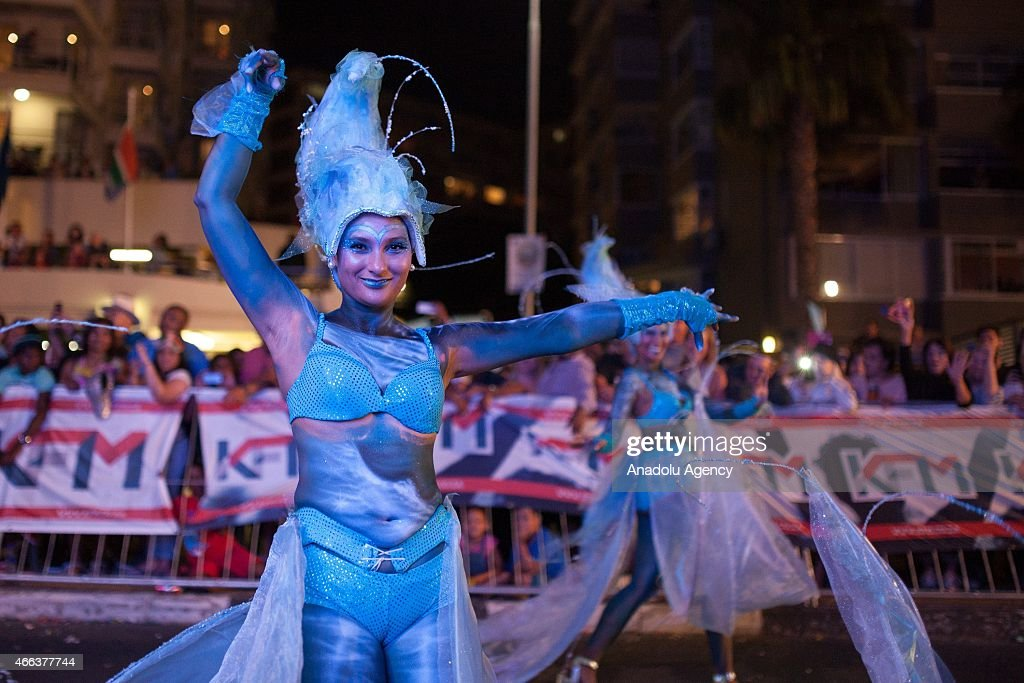 2015 Cape Town Carnival in South Africa : ニュース写真
