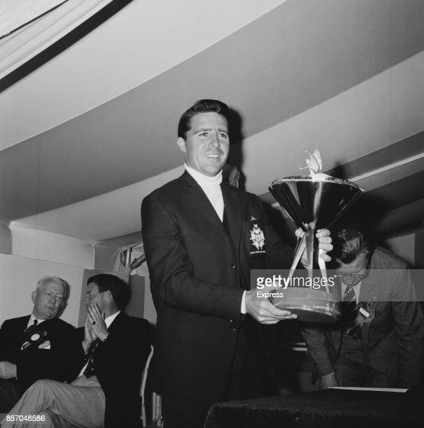 South African golfer Gary Player winner of the 1965 Piccadilly World Match Play Championship UK 18th October 1965