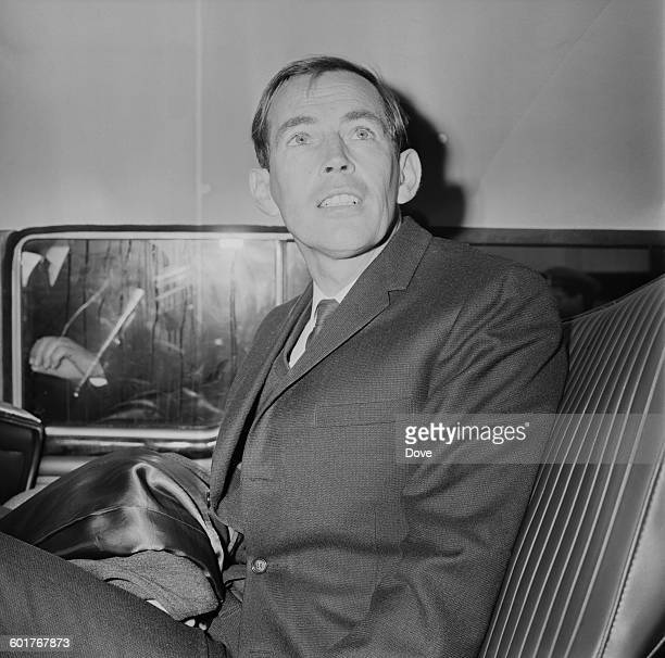 South African heart surgeon Christiaan Barnard at London Airport en route to New York 23rd December 1967