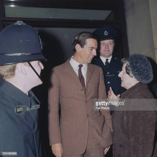 South African heart surgeon Christiaan Barnard in London May 1968