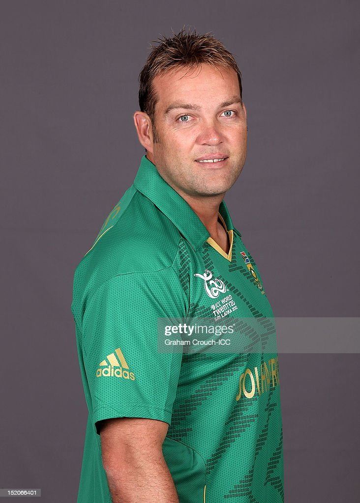 South African Jacques Kallis poses at a portrait session ahead of the ICC T20 World Cup on September 16, 2012 in Colombo, Sri Lanka.