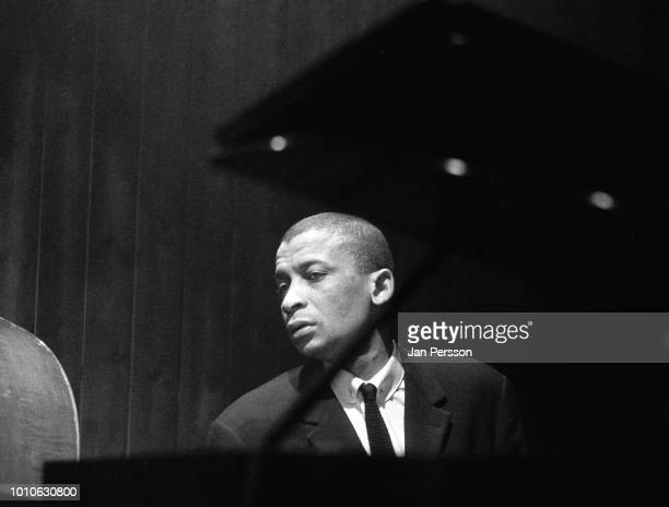 South African jazz pianist and composer Dollar Brand later change name to Muhammed Ibrahim performing at Jazzhouse Montmartre Copenhagen 1965