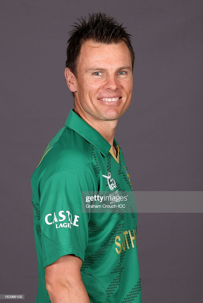 South African Johan Botha poses at a portrait session ahead of the ICC T20 World Cup on September 16, 2012 in Colombo, Sri Lanka.