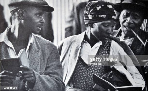 South African Pass laws were a feature of the country's apartheid system until effectively ended in 1986 The black population was required to carry...