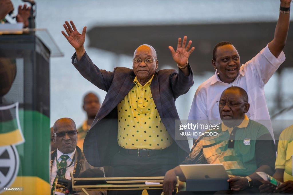 SAFRICA-ANC-106-ANNIVERSARY : News Photo