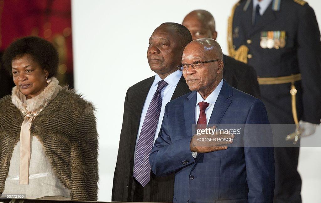 SAFRICA-POLITICS-ECONOMY-ZUMA : News Photo