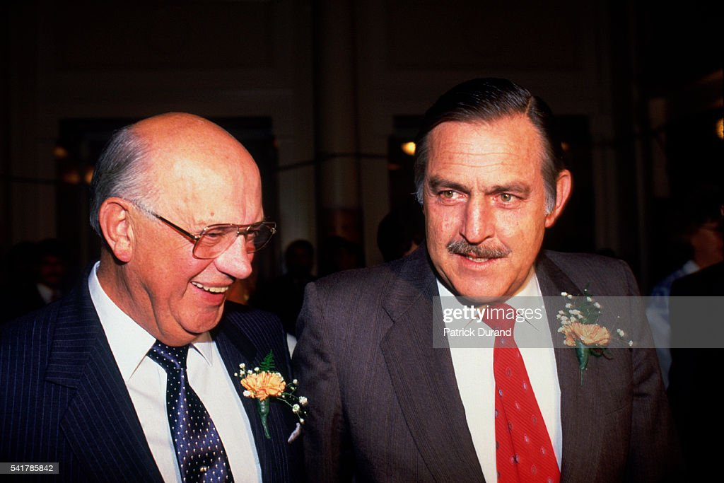 South African President Pieter Botha and Foreign Affairs Minister ...