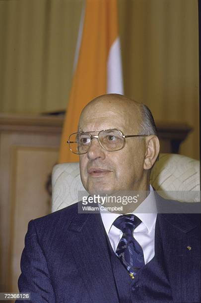 South African President Pwith Botha