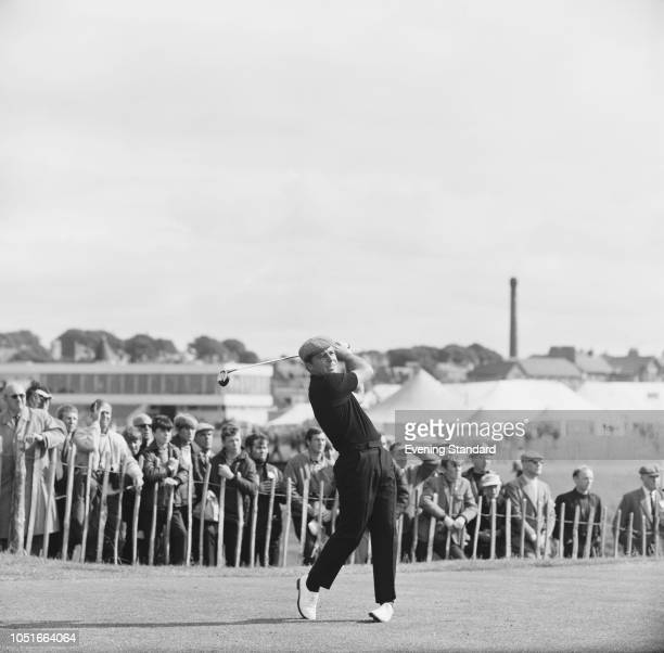 South African professional golfer Gary Player in action at the Open Championship Angus Scotland UK 12th July 1968