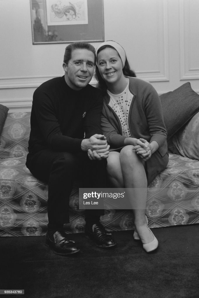 Gary Player with desirable, Wife Vivienne Verwey