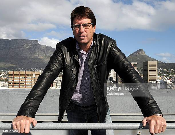South African property developer Stephen Birch who claims he has found Madeleine McCann's grave photographed on July 7 2012 in Cape Town South Africa...