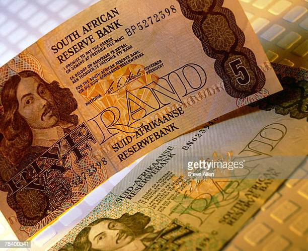 south african rands - south african currency stock photos and pictures