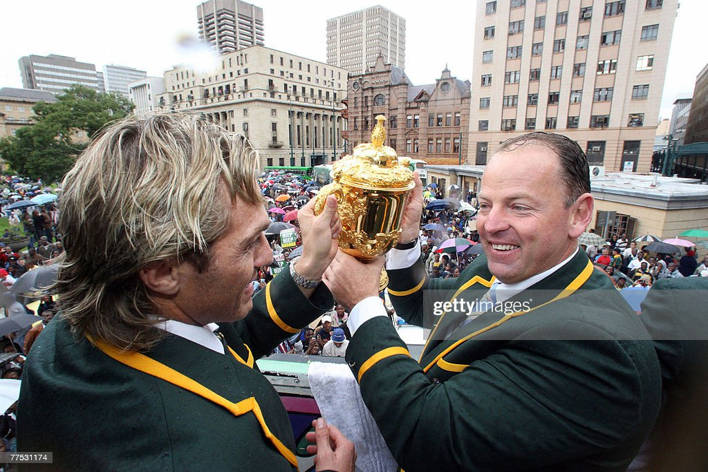 South African rugby union Coach Jack Whi : News Photo