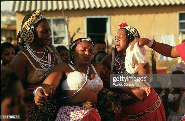 South African Sangomas are wizards and witches who are supposedly chosen by their ancestors to follow a traditional training and go through a rite of...