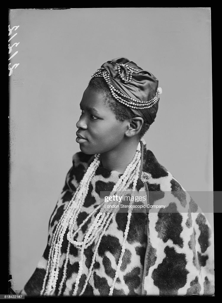South African singer Charlotte Manye, a member of The African Choir, 1891. The choir, drawn from seven different South African tribes, toured Britain from 1891 to 1893 to raise funds for a technical college in their home country. In the 1890s, Manye (also listed as Makhomo Manye) was the first black South African woman to graduate from Wilberforce University in the US. She later became an important political activist in South Africa.