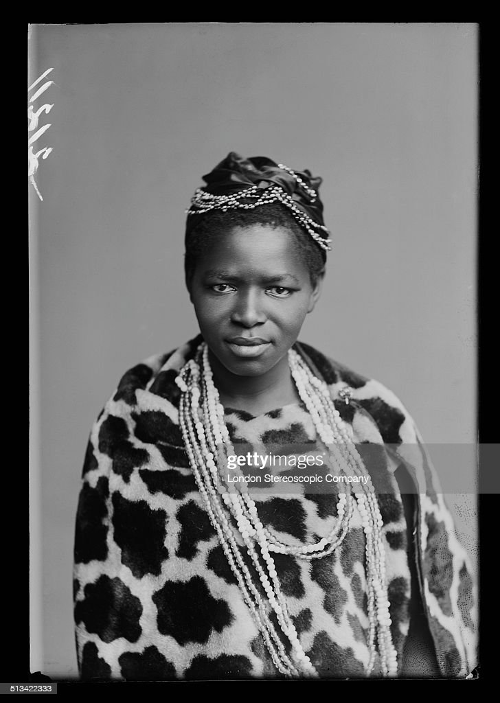 South African singer Charlotte Manye, a member of The African Choir, 1891. The choir, drawn from seven different South African tribes, toured Britain from 1891 to 1893 to raise funds for a technical college in their home country. In the 1890s, Manye (also listed as Makhomo Manye) was the first black South African woman to graduate from Wilberforce University in the US. She later became an important political activist in South Africa. (Photo by London Stereoscopic Company/Hulton