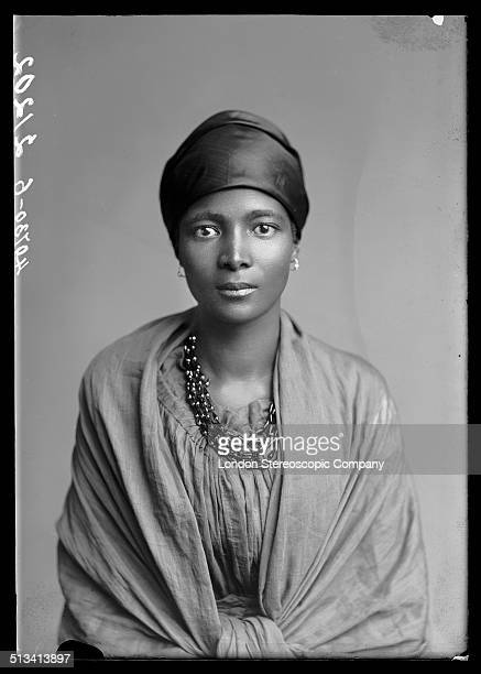 South African singer Eleanor Xiniwe a member of The African Choir 1891 The choir drawn from seven different South African tribes toured Britain from...