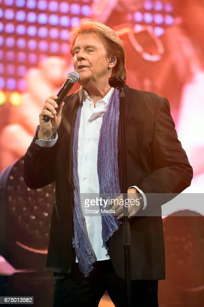 South african singer Howard Carpendale performs during 'Die Schlagernacht des Jahres' at Lanxess Arena on April 29 2017 in Cologne Germany