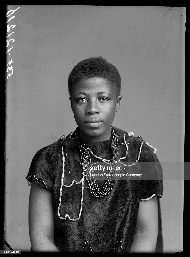 South African singer Johanna Jonkers, a member of The African Choir, London, 1891. The choir, drawn from seven different South African tribes, toured Britain from 1891 to 1893 to raise funds for a technical college in their home country.