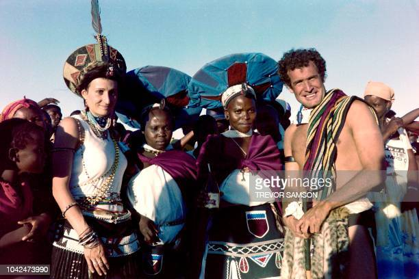 South African singer Johnny Clegg married Jennifer Bartlett in a traditional Zulu wedding on March 26 1989 in the Natal province in South Africa