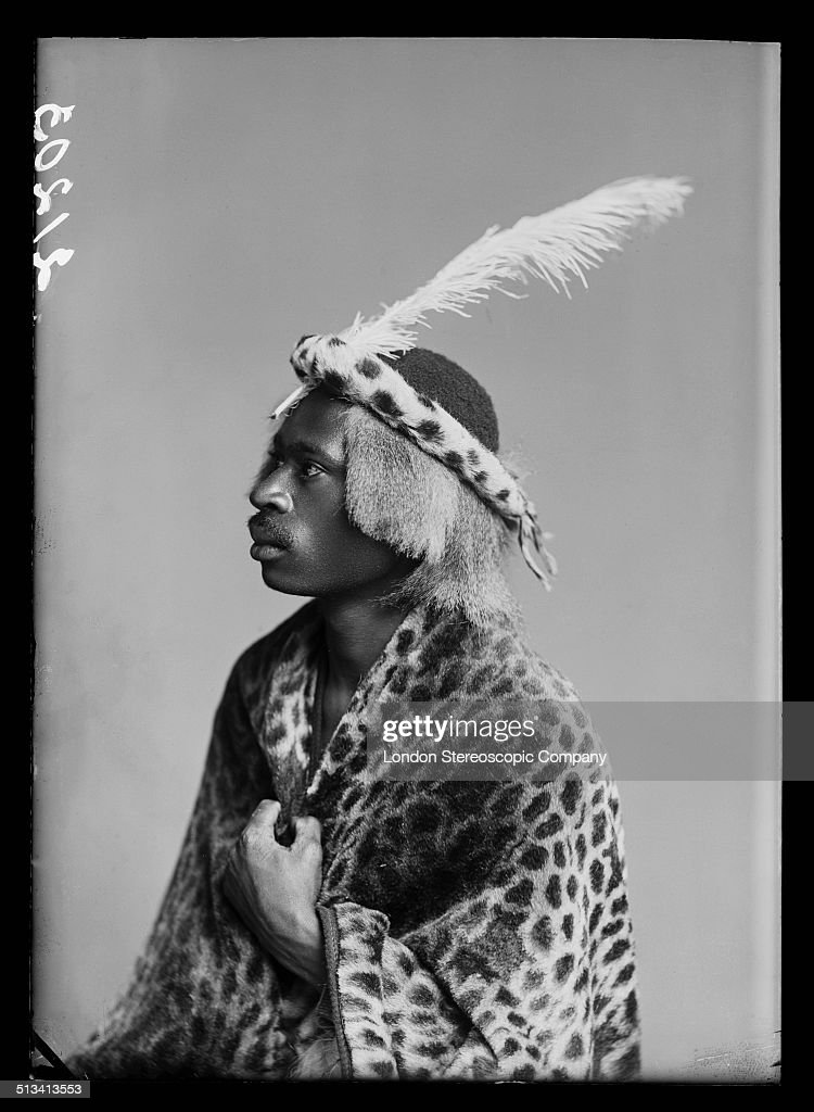 South African singer Josiah Semouse, a member of The African Choir, 1891. The choir, drawn from seven different South African tribes, toured Britain from 1891 to 1893 to raise funds for a technical college in their home country.