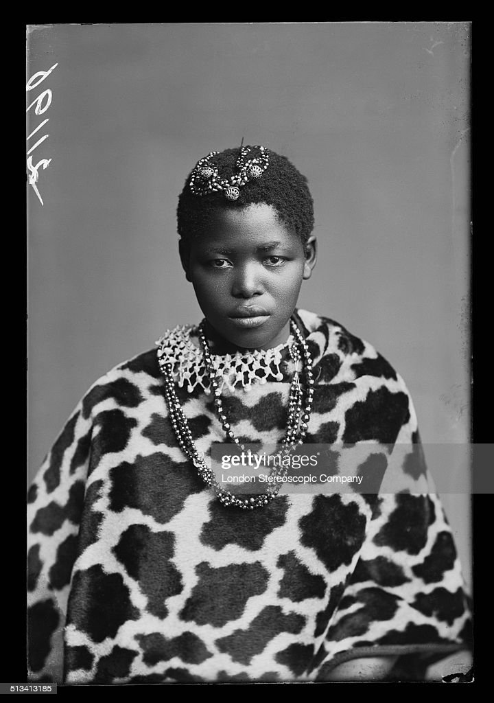 South African singer Katie Manye (later known as Katie Makanya), a member of The African Choir, 1891. The choir, drawn from seven different South African tribes, toured Britain from 1891 to 1893 to raise funds for a technical college in their home country.