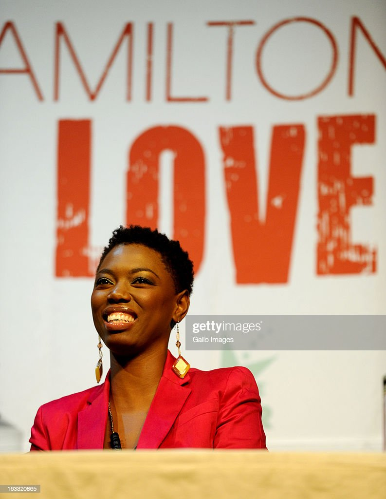 South African singer Lira at a press conference about American R&B singer Anthony Hamilton's concert on August 16, 2012 in Johannesburg, South Africa. Hamilton is in the country as part of his Back To Love tour.