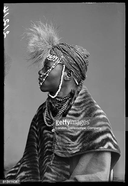 South African singer Wellington Majiza a member of The African Choir 1891 The choir drawn from seven different South African tribes toured Britain...