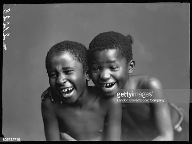 South African singers Albert Jonas and John Xiniwe of The African Choir 1891 The choir drawn from seven different South African tribes toured Britain...